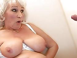 Toilet big tits